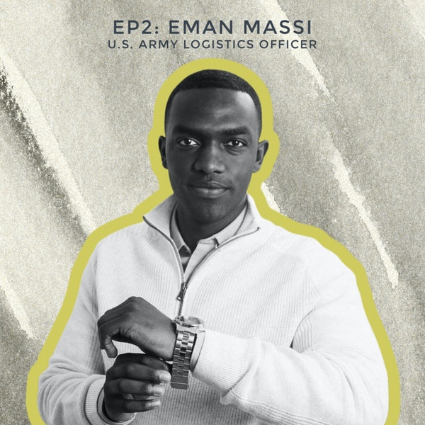 Becoming Black James Bond with U.S. Army Officer Eman Massi Image