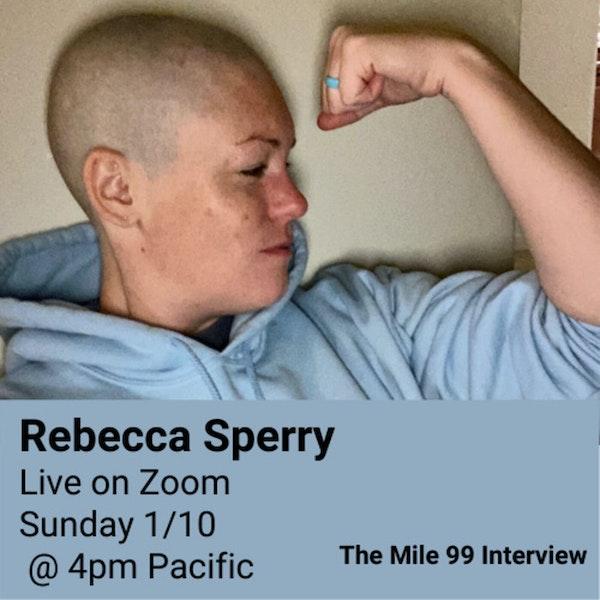 Rebecca Redlines Cancer - Live Image