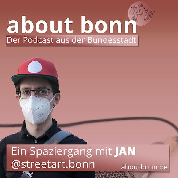 Ein Spaziergang mit Jan von @streetart.bonn