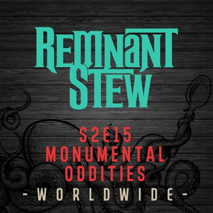 MONUMENTAL ODDITIES -WORLDWIDE-