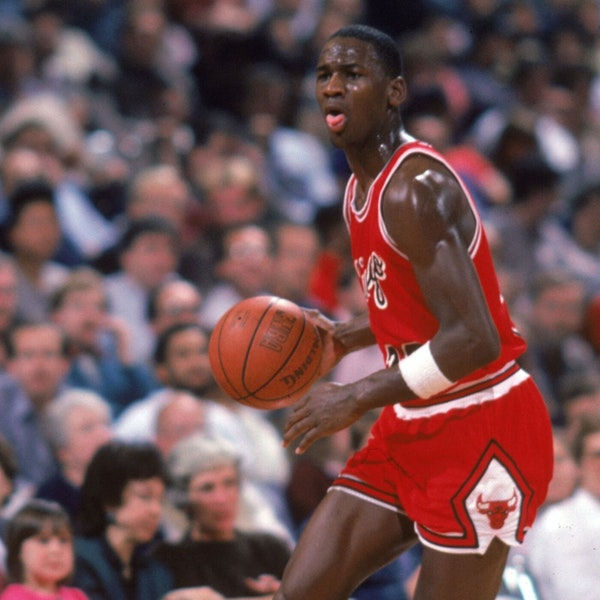 Michael Jordan's rookie NBA season - Bulls at Trail Blazers (Nov 24), Clippers (Nov 30) - 1984 - NB85-13 Image