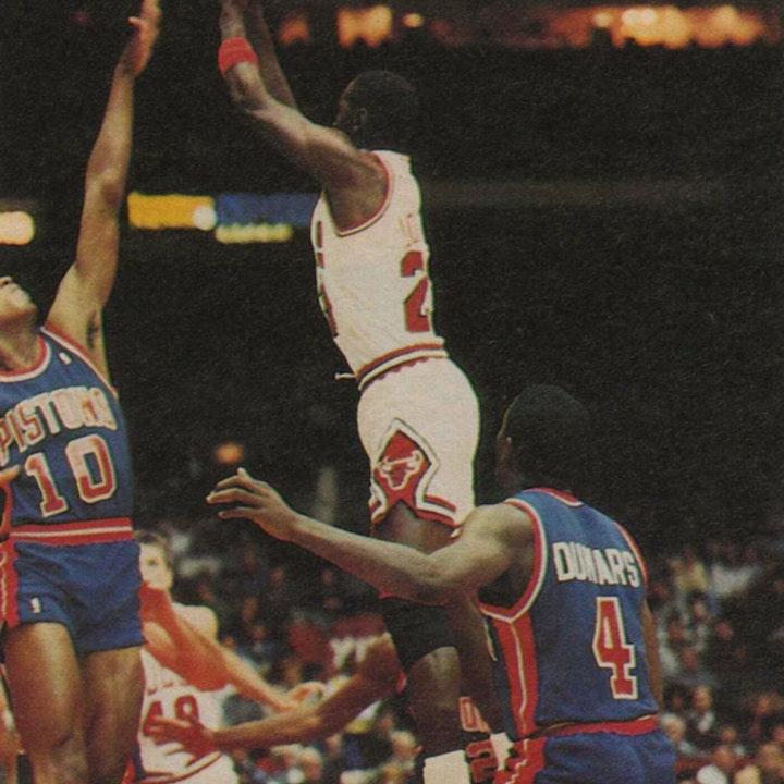Michael Jordan's fourth NBA season - November 21 through December 4, 1987 - NB88-4