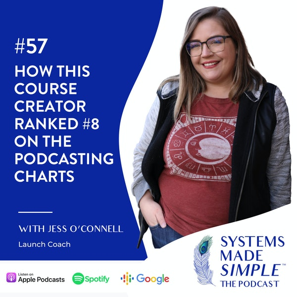 How this Course Creator Ranked #8 on the Podcasting Charts Image