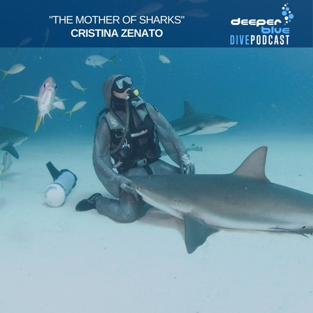 """Cristina Zenato the """"Mother of Sharks"""" on the trust she places in her children, and Jennifer Idol on how the best underwater camera might just be in your pocket Image"""