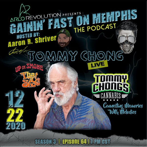 Tommy Chong | Comedy Legend & Cannabis Activist Image