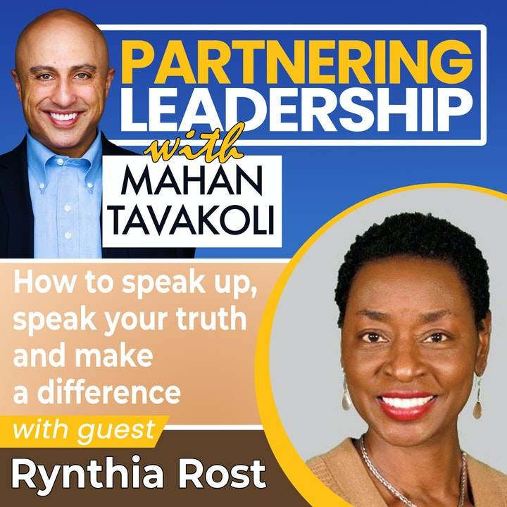 How to speak up, speak your truth and make a difference with Rynthia Rost | Greater Washington DC DMV Changemaker