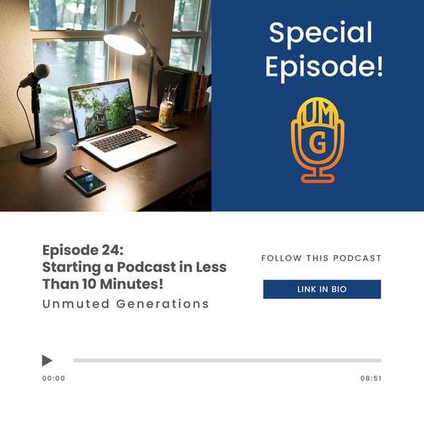 Ryan Mu - Starting a Podcast in Less than 10 Minutes! (Special) Image