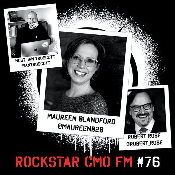 The Firestarter, Maureen Blandford Unleashing B2B and a Gift with a Cocktail Episode Image