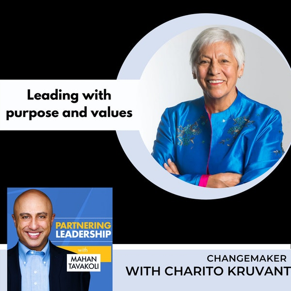 Leading with purpose and values with Charito Kruvant | Changemaker Image
