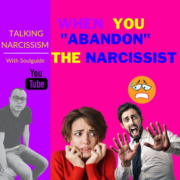 """When you """"abandon"""" the narcissist. The trigger of the anxious feeling they hate. Image"""