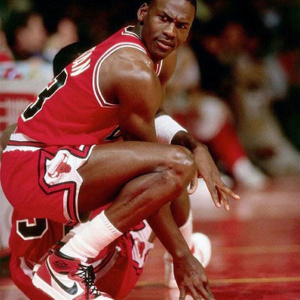 Michael Jordan's second NBA season - March 24 through April 13, 1986 - NB86-13 Image