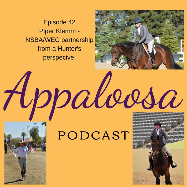 Piper Klemm - The NSBA/WEC partnership from a Hunter's perspective: EP42 Image