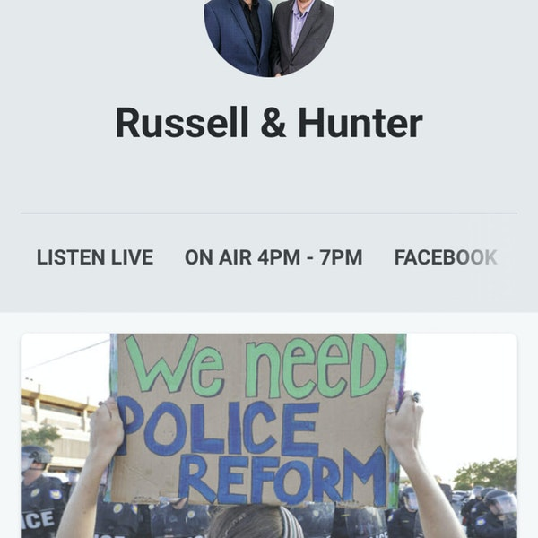 Episode 40 Making the Police better for the Cops and Community: Russell and Hunter show interview Image