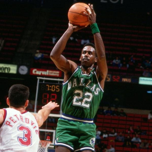 Rolando Blackman: Kansas State legend and four-time NBA All-Star - AIR070 Image