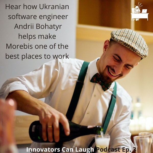 Ukranian Andrii Bohatyr is redefining what it means to be a Tech Geek Image