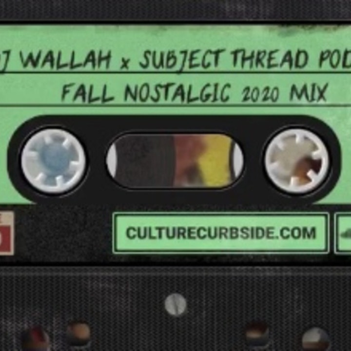 DJ WALLAH x SUBJECT THREAD PODCAST FALL 2020 MIX TRAILER