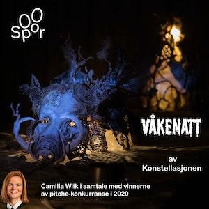 """Presentasjon av """"Våkenatt"""" - vinnere av pitche-konkurranse 2020"""
