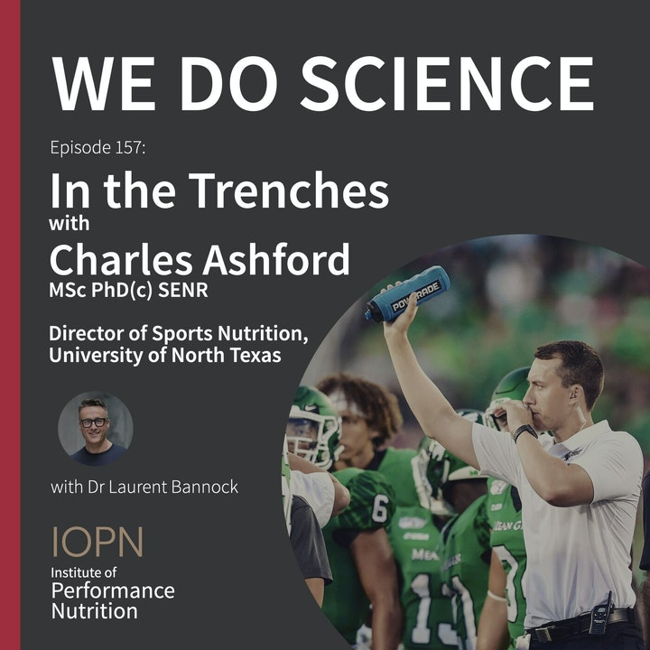 """""""In the Trenches"""" with Charles Ashford MSc SENR"""
