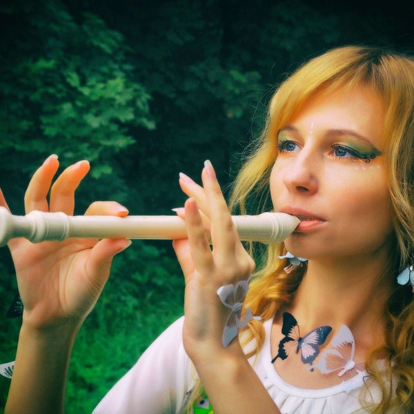 Calm Relaxing Flute Music For Meditation And Stress Reduction Image