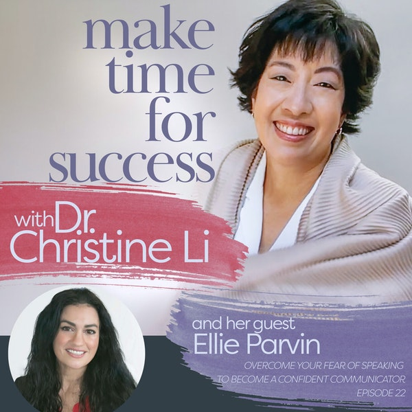 Overcome Your Fear of Speaking to Become a Confident Communicator with Ellie Parvin Image
