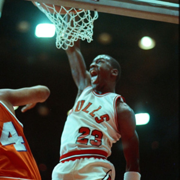 Michael Jordan's rookie NBA season - December 25, 1984, through January 8, 1985 - NB85-15 Image