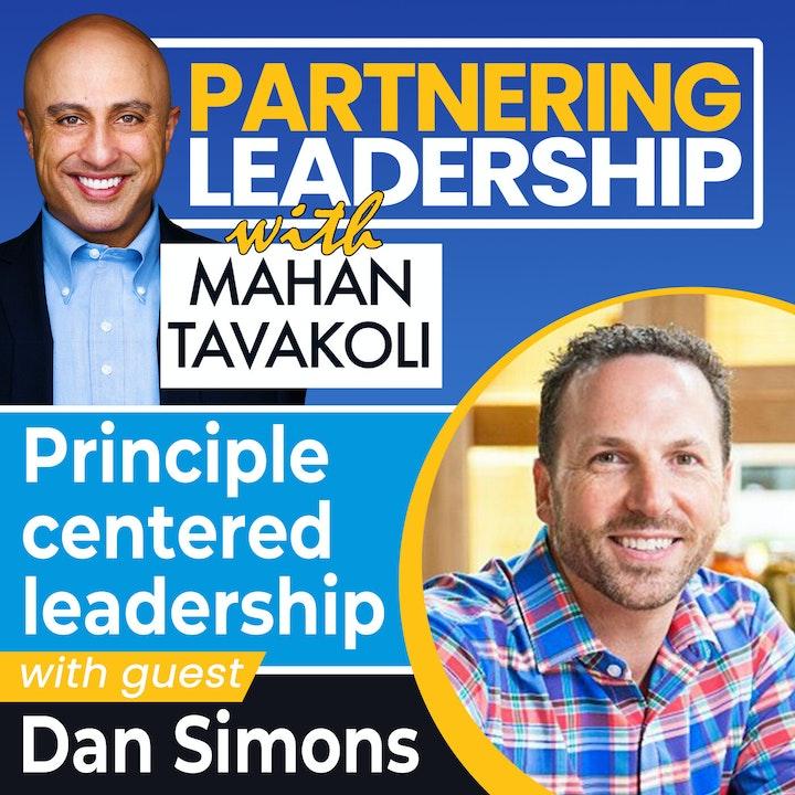 Principle centered leadership with Dan Simons | Greater Washington DC DMV Changemaker