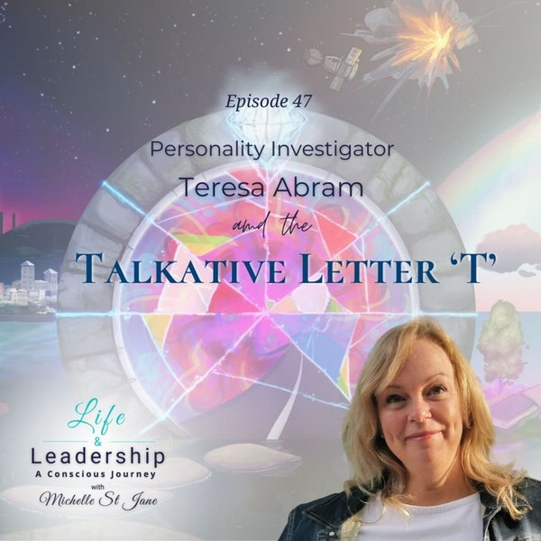 Personality Investigator Teresa Abram and The Talkative Letter 'T' Image