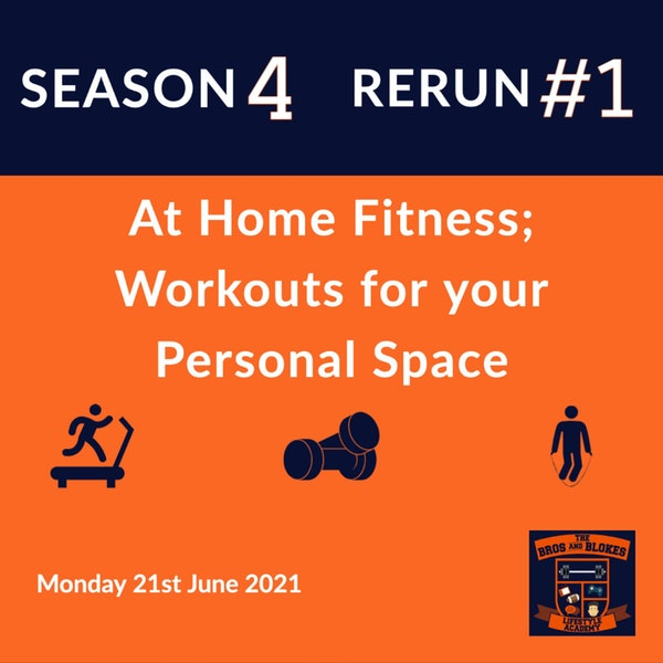 """""""At Home"""" Fitness; Workouts for Your Personal Space - *RERUN*"""