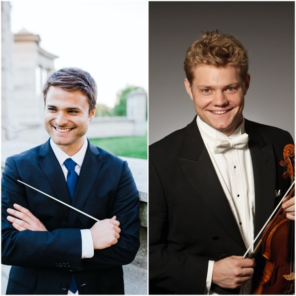 Sarasota Orchestra's Guest Conductor and Soloist, Stephen Mulligan and David Coucheron, Join the Club Image