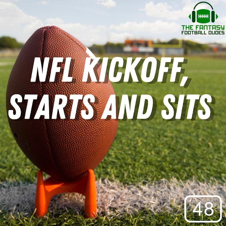 Kickoff Thursday, Starts and sits