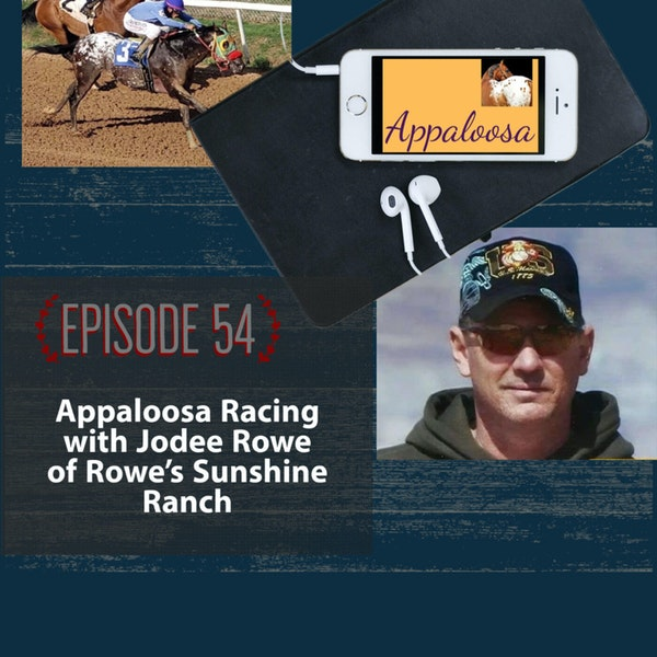 Appaloosa Racing with Jodee Rowe of Rowe's Sunshine Ranch Image