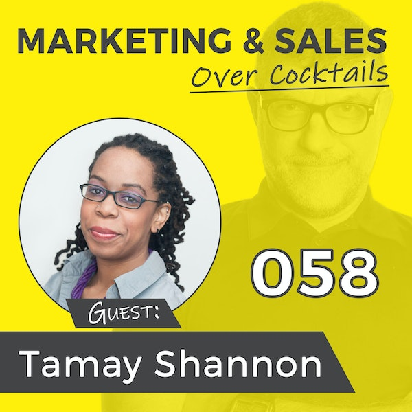 058: Stop Being Overwhelmed with Your Social Media with TAMAY SHANNON Image