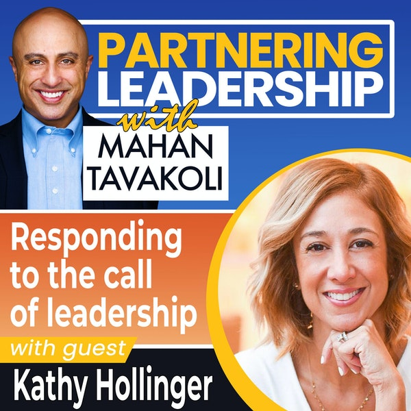 Responding to the call of leadership with Kathy Hollinger | Changemaker Image