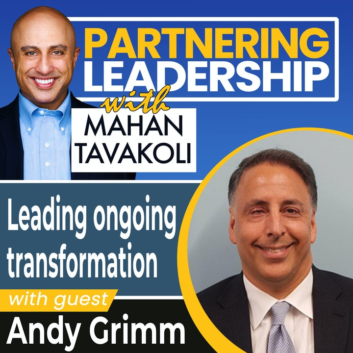 Leading ongoing transformation with Andy Grimm | Greater Washington DC DMV Changemaker