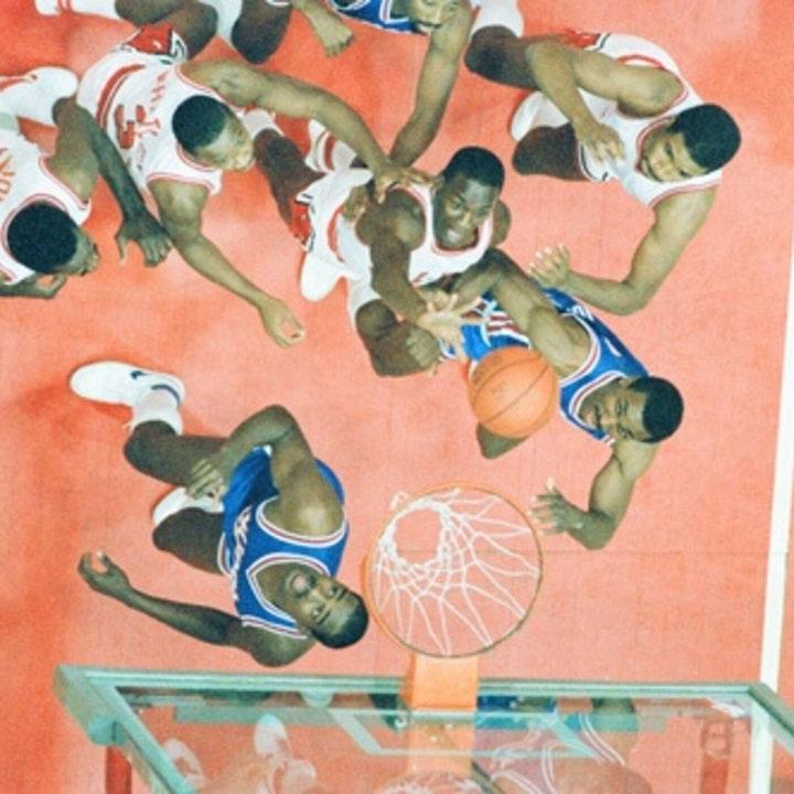 Michael Jordan's rookie NBA season - Bulls at Knicks (Jan 5) / January 24 through February 7, 1985 - NB85-17