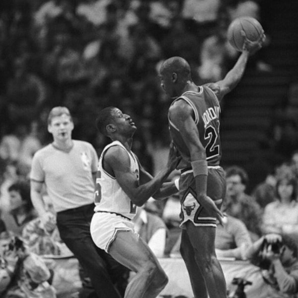 Michael Jordan's third NBA season - January 30 through February 13, 1987 - NB87-8 Image