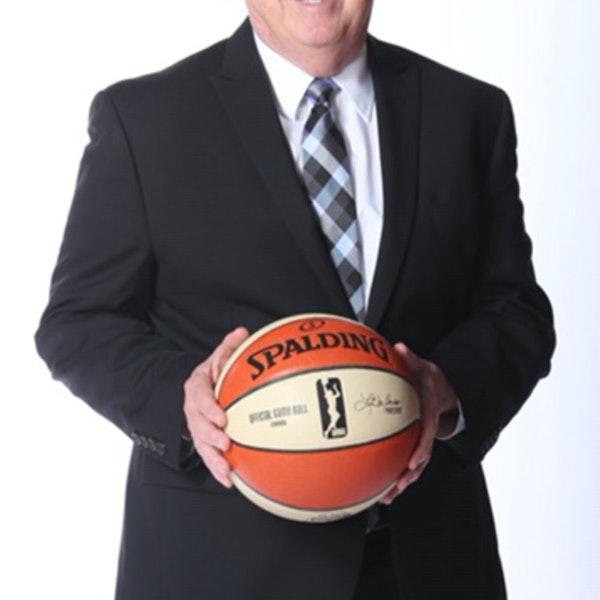 Mike Thibault - Washington Mystics Head Coach and GM (drafted Michael Jordan to the Bulls) - AIR089 Image