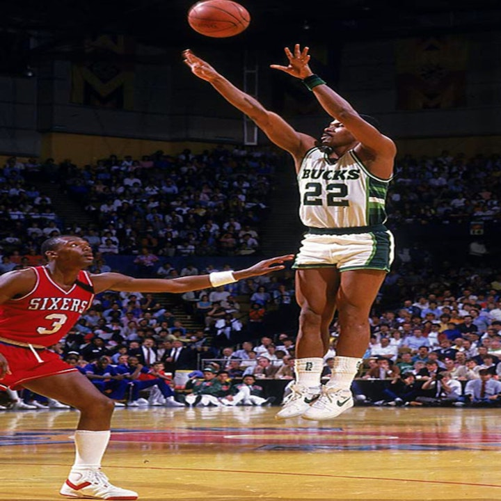 Ricky Pierce: All-Star and two-time NBA Sixth Man of the Year - AIR028