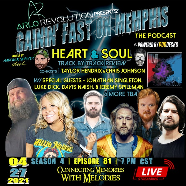 Eric Church   Heart & Soul Album Review   W/ Jonathan Singleton, Jeremy Spillman, Chris Johnson, & Taylor Hendrix Image