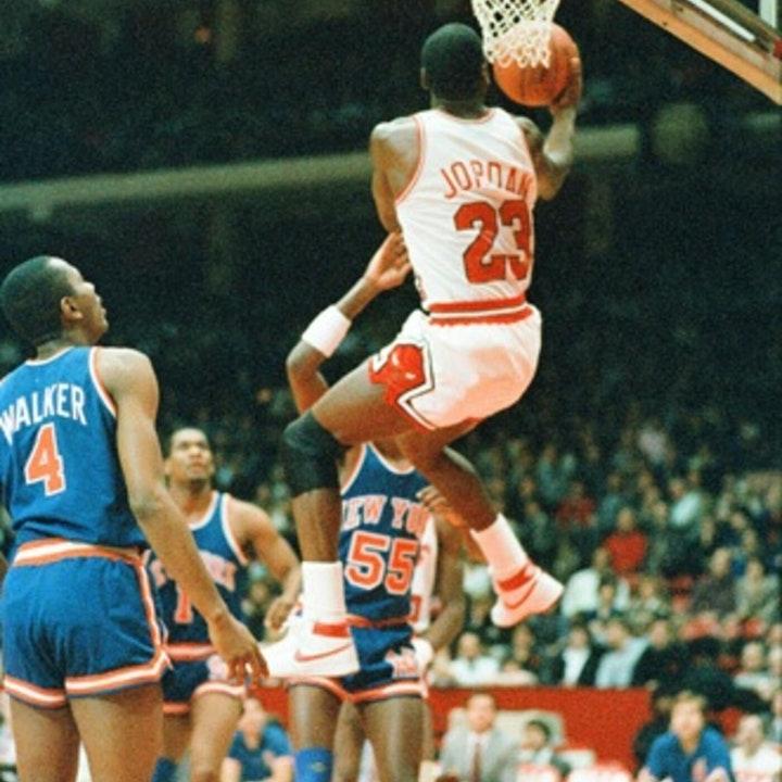 Michael Jordan's rookie NBA season - January 9 through 23, 1985 - NB85-16