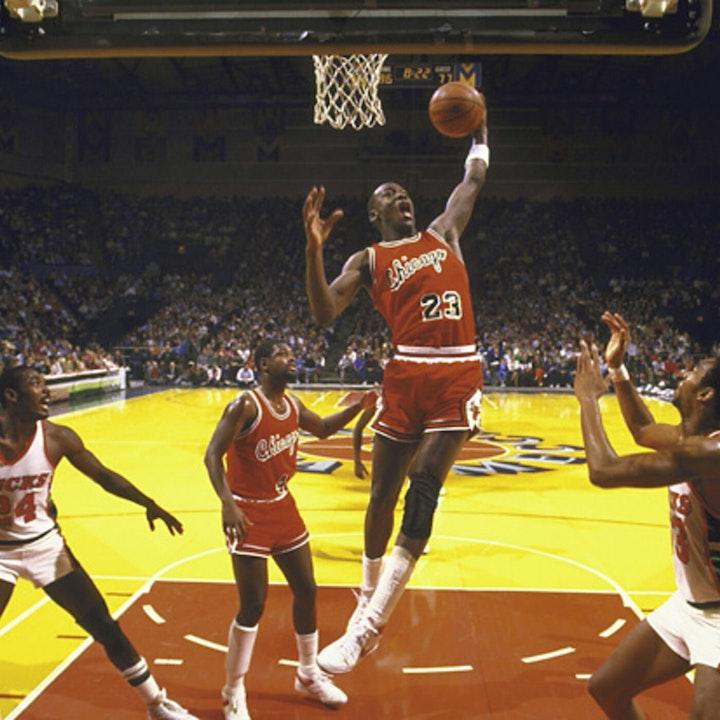 Michael Jordan's rookie NBA season - October 26 through November 9, 1984 - NB85-8