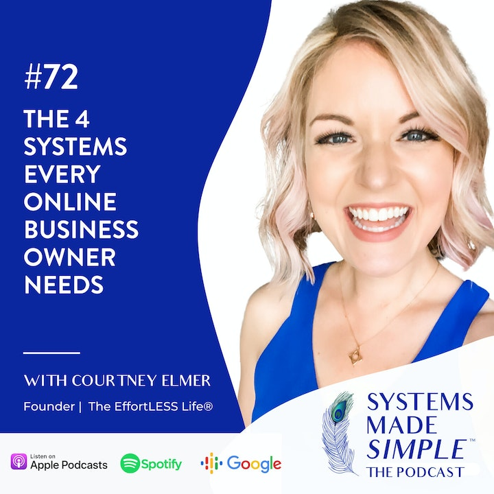 Episode image for The 4 Systems Every Online Business Owner Needs