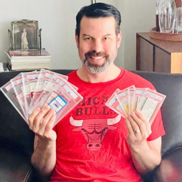 Andrew Goldberg: Collecting 1,264 Michael Jordan NBA game tickets - AIR114 Image