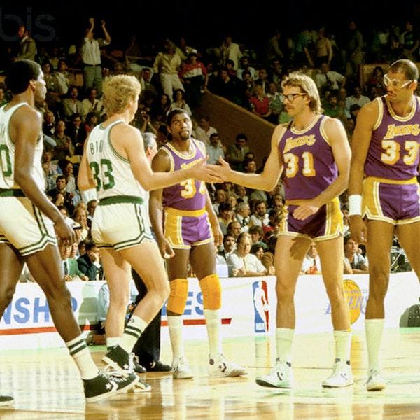 Michael Jordan's rookie NBA season - 1985 NBA Finals - NB85-29 Image