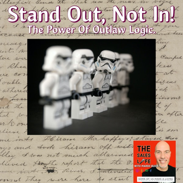 """656. There's more to life than only doing what you're """"supposed to do."""" Transform your life using Outlaw Logic. Image"""