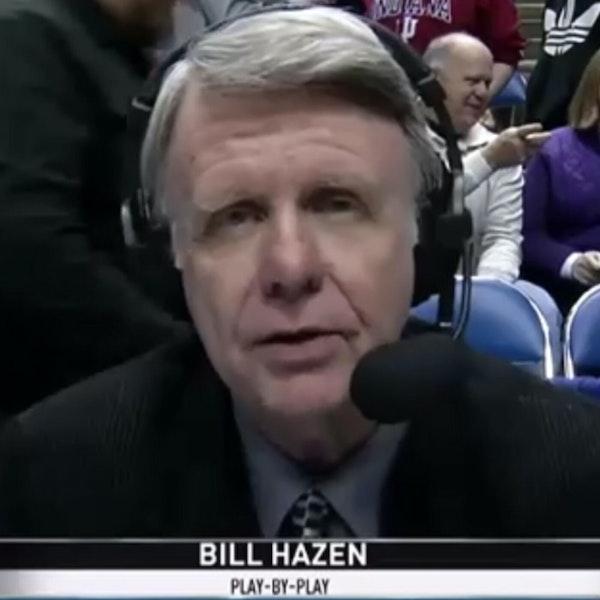 Bill Hazen: Broadcast veteran / play-by-play man during Michael Jordan's rookie NBA season (1984-85) - AIR064 Image