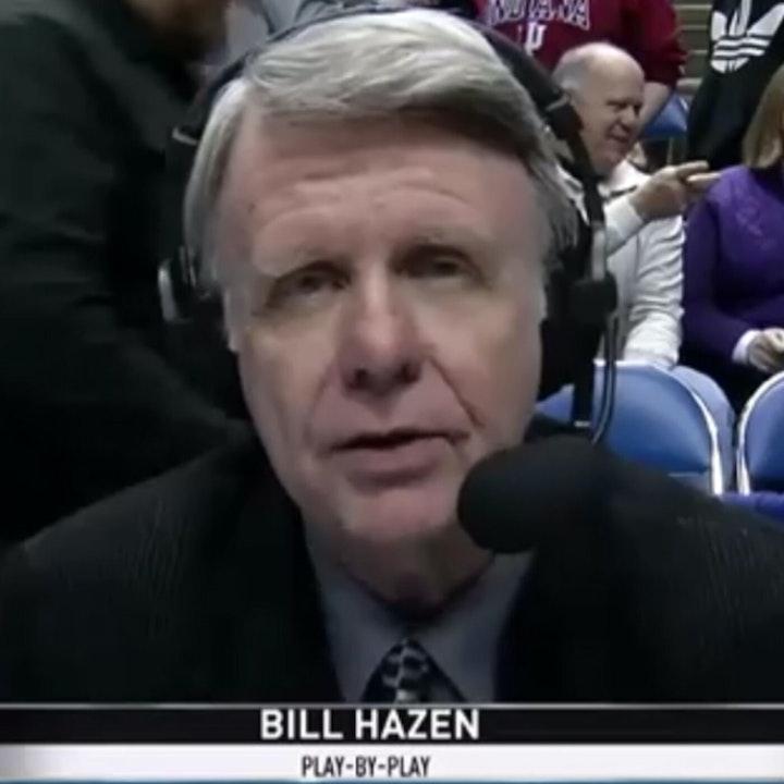 Bill Hazen: Broadcast veteran / play-by-play man during Michael Jordan's rookie NBA season (1984-85) - AIR064