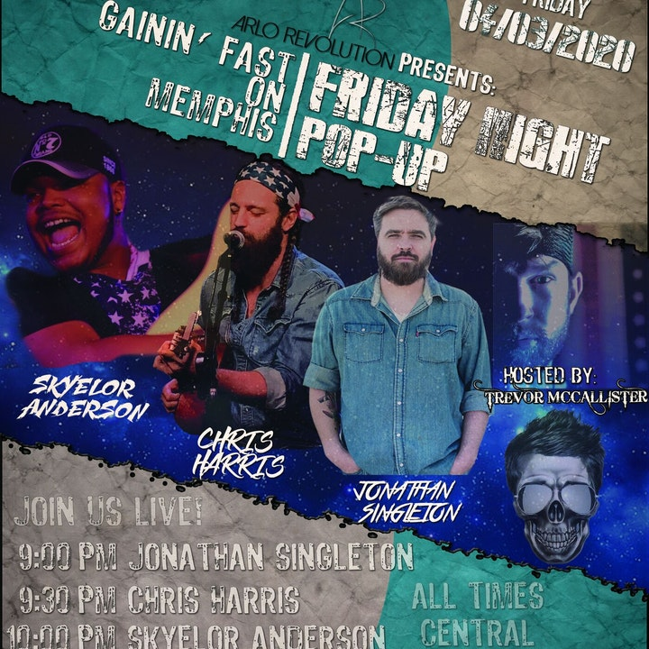 Friday Night Pop-Up Live: Featuring Jonathan Singleton and others