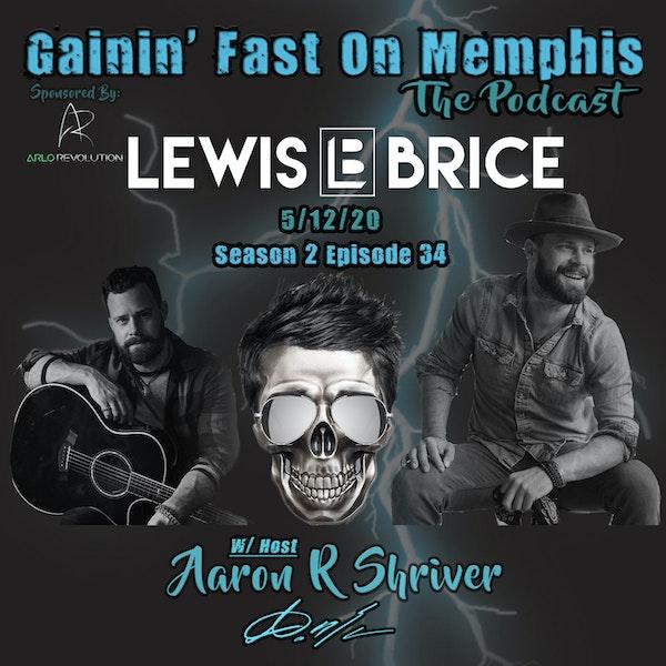 Lewis Brice | Singer/Songwriter Image