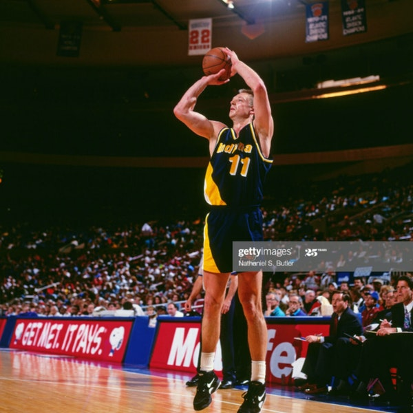 Detlef Schrempf: Three-time NBA All-Star and two-time Sixth Man of the Year - AIR107 Image